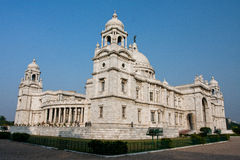 Massive building of Victoria Memorial Hall of Kolkata Royalty Free Stock Images