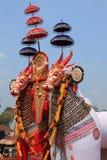 Massive bullock effigies Royalty Free Stock Photography