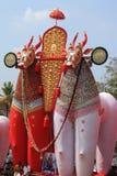 Massive bullock effigies Stock Photography