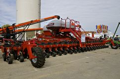 Massive Case IH Yieldtrac air seeder Royalty Free Stock Photo