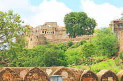 Massive Chittorgarh Fort rajasthan india Royalty Free Stock Photography