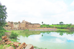 Massive Chittorgarh Fort rajasthan india Stock Photo
