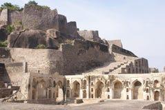 Massive citadel ruins Stock Image