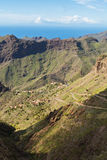Massive Cliffs of Tenerife Stock Images
