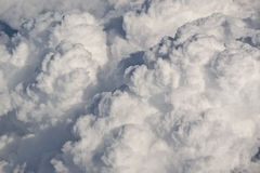 Massive cloud-building Royalty Free Stock Images