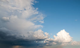 Massive cloud system Royalty Free Stock Photos