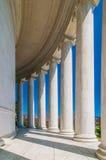 Massive column pillars. Thomas Jefferson Memorial, in Washington, DC, USA Stock Photography