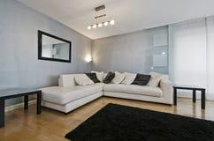 Massive corner sofa Stock Image