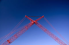 Massive Crane Royalty Free Stock Images