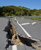 Massive Earthquake moves half New Zealand North by Several Metre Royalty Free Stock Images