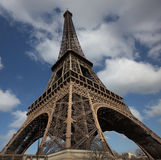 Massive Eiffel Tower Royalty Free Stock Images