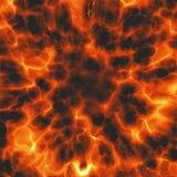 Massive explosion Stock Image