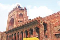 Massive Fatehpur Sikri fort and complex Uttar Pradesh India Stock Photos