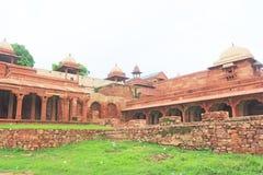 Massive Fatehpur Sikri fort and complex Uttar Pradesh India Stock Photography