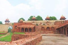 Massive Fatehpur Sikri fort and complex Uttar Pradesh India Stock Image