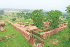 Massive Fatehpur Sikri fort and complex Uttar Pradesh India Royalty Free Stock Photography