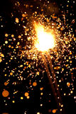 Massive firework Stock Photography