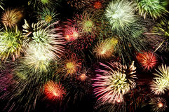 Massive Fireworks Royalty Free Stock Image
