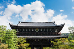 Massive gate at Chion-in Temple in Higashiyama, Kyoto Stock Photos