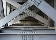 Massive Girder Bridge Stock Photo