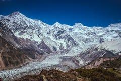 Massive glacier Royalty Free Stock Image