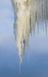 Massive icicle Royalty Free Stock Photo