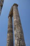 Massive Ionian stone columns Royalty Free Stock Image