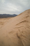 Massive Kelso Sand Dunes in Mojave National Preserve, California on a Cloudy Day Stock Images