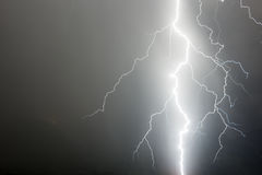 Massive lightning. A hugh lightning in the fore ground Royalty Free Stock Photography
