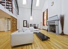 Massive living room Stock Photography