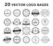 Massive logo set bundle vector Royalty Free Stock Photos