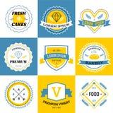 Massive logo set bundle vector Stock Photo