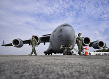 C-17 Globemaster Stock Photography