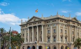 Massive Old Barcelona Landmark Royalty Free Stock Images