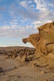 Massive orange granite rock formation, Namibia Royalty Free Stock Photo