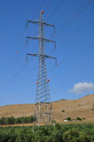 Massive pylon. Royalty Free Stock Photos