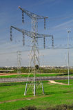 Massive pylon. Stock Image