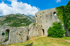The massive ramparts Royalty Free Stock Photo