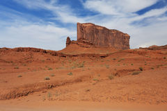 Massive rock in Monument Valley Royalty Free Stock Image