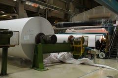 Massive rolls of paper Stock Images
