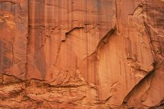 Massive sandstone wall,texture. Stock Photography