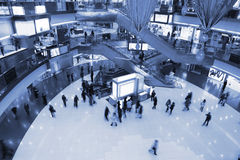 Massive shopping mall Stock Images