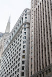 Massive Stone Buildings in Chicago Royalty Free Stock Photo