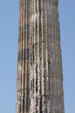 Massive stone columns of the Apollo temple Stock Image