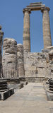 Massive stone columns Royalty Free Stock Photography