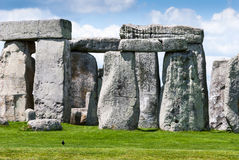 Massive stone trilithons of Stonehenge World Heritage site, Sali Stock Photography