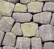 Massive Stone Wall Royalty Free Stock Image