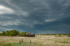 Massive Storm in Big Sky Country Stock Images