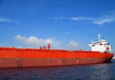 Massive Supertanker Stock Photo