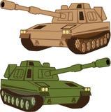 Massive Tank Royalty Free Stock Photography